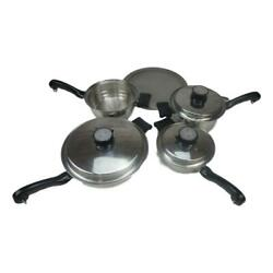 Pro-health Ultra Magnetic Induction Core Waterless Cookware And All-clad Splatter
