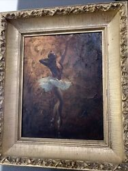 Ted Withers Ca,new Zealand,1896-1964 Oil Painting. Pin Up Art.