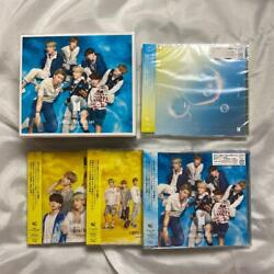 Used [bts Lights / Boy With Luv Universal Music Limited Ver.] 4 Types Set W/box
