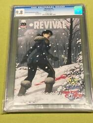 Revival 1 Comic Variant Cgc 9.8 Third Eye Comics Awesome Conventions Edition