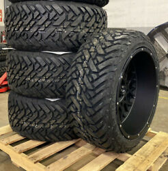 22x12 Vision Rocker Wheels 33 Fuel Mt Tires Package 8x170 Ford Excursion F250