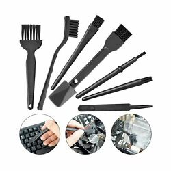 Small Portable Plastic Handle Nylon Anti Static Brushes Computer Keyboard Cle...