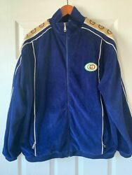 1000 Authentic Oversize Chenille Jacket Mens/women's Made In Italy S