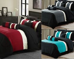 Empire Home Serenity 4pc. Comforter Set With Matching Pillow Shams- Great Value