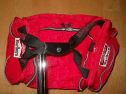 Vintage 1990s Red Marlboro Unlimited Gear Duffle Bag W/detachable Backpack - New