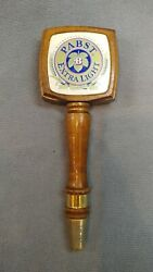 Pabst Extra Light Beer Tap Handle