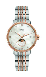 Rado Coupole Classic Diamonds Moon Phase Mother Of Pearl Womenand039s Watch R22882923