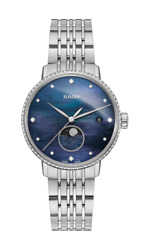 Rado Coupole Classic Diamonds Moon Phase Mother Of Pearl Womenand039s Watch R22882903