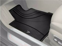 Genuine Bmw All Weather Rubber Floor Mats Front Rear G11 7 Series Black