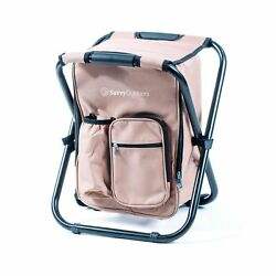 Ultralight Backpack Cooler Chair Compact Lightweight and Portable Folding S... $61.63