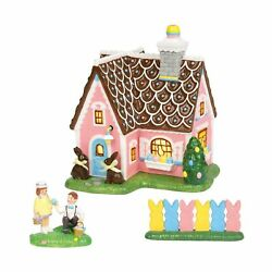 Department56 Original Snow Village Easter Sweets House Lit Building And Acces...