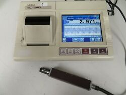 Mitutoyo Sj-310 Profilometer Surface Finish Tester Complete Tested Surftest Nz3