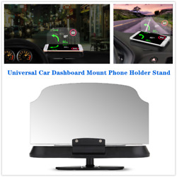 1×car Suv Dashboard Mount Cell Phone Holder Stand Clamp Cradle Clip Hud Design