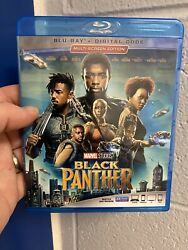 Black Panther Blu ray Disc 2018 No Digital Copy