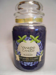Yankee Candle BLUEBERRY Large Jar Candle Returning Classic