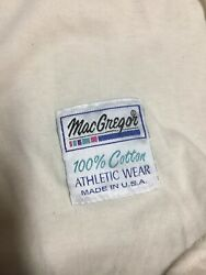 Baseball Jersey By Mac Gregor Xlarge Green And White Usa100 Cotton