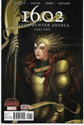 1602 WITCH HUNTER ANGELA #1 2 3 4 OF 4 MARVEL 2015