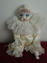 Kay Mckee Limited Edition Musical Artist Doll Clown For Baby 1986 Antique