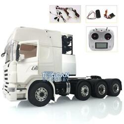 Lesu 1/14 Scania Rc Tractor Truck Metal 88 Chassis Sound Motor Hercules Cabin