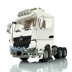 Lesu Rc Metal 66 1/14 Chassis Tractor Truck Roof Light Hercules Actros Cabin