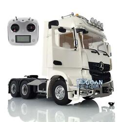 1/14 Lesu Rc Metal 66 Chassis Tractor Truck Radio Light Hercules Actros Cabin