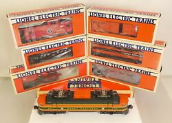 Lionel 6-18302 Great Northern Ep-5 Complete Freight Set-new In Orig Boxes