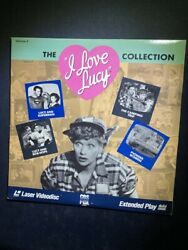 Rare I Love Lucy Collection Volume 3 Laserdisc Extended Play Good Condition