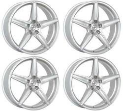 4 Alloy Wheels Oxigin 21 Oxflow 10.5x20 Et30 5x112 Sil For Bentley Continental
