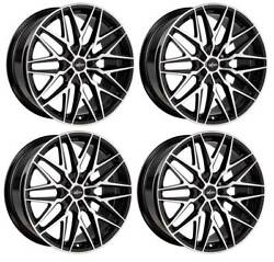 4 Alloy Wheels Oxigin 25 Oxcross 8.5x19 Et35 5x114 Swfp For Citroën C4 Aircross