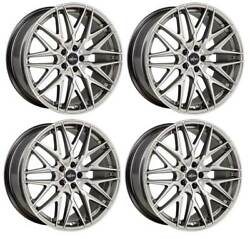 4 Alloy Wheels Oxigin 25 Oxcross 9x20 Et38 5x114 Silp For Ford Mustang