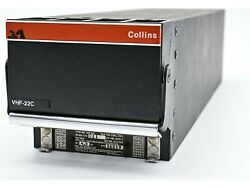 Collins Vhf-22c Com Transceiver 8.33 As Removed Easa Form One/faa 8130