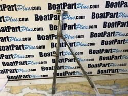 Stainless Steel Gate Stanchion From A Cheoy Lee Sailboat - 25 1/2 Double Line