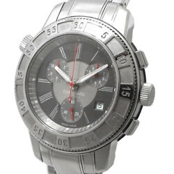And Co Mark T-57 Chronograph Menand039s Quartz Date 17840894 Gray Dial Watch