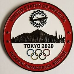 Fams Federal Air Marshals Tokyo 2020 Olympics Challenge Coin