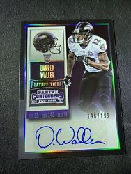 2015 Contenders Darren Waller Playoff Ticket Autograph Auto Rookie Rc 196/199