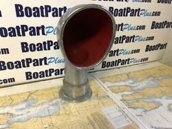 Dorade/cowl Vent From A 48and039 Cheoy Lee Sailing Yacht - Chrome On Bronze