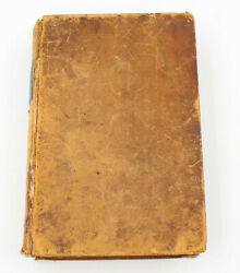 1851 The Pilgrim's Progress In Two Parts John Bunyan Book Published Philips