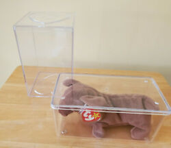 Ty 1995 Weenie The Dachshund Dog Retired Beanie Baby-mint Condition-never Opened