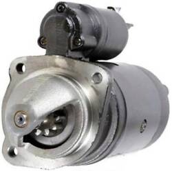 New 12 Volt 10 Tooth Cw Starter Motor Fits Mccormick Tractor Cx100 G4.0t Perkins