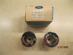 C8zz-18830-a Vintage Ford 68 Mustang Radio Disc Assembly Knobs 2 Nos
