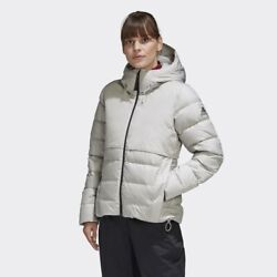Adidas Outdoor Womens Urban Down Jacket Cold Reday Grey Ft2509 Xs - L Takse
