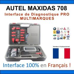 Autel Maxidas Ds708 Auto Diagnostic Scanner Tool French+english Update Online
