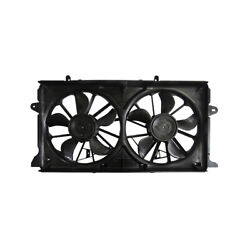 New Dual Radiator And Condenser Fan Fits Gmc Sierra 1500 2014-2017 2018 Gm3115291