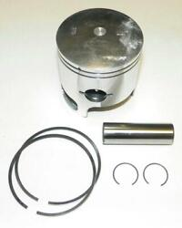 New Piston Kit .75mm Over Tiger Shark 94 95 96 97 Monte Carlo Montego 640cc