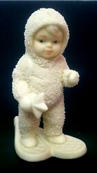 Dept 56 Snowbabies A Special Delivery 7948-0 With Box