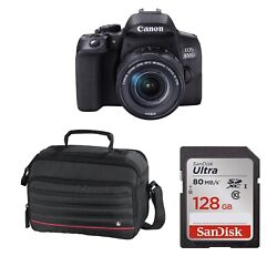 Eos 850d With 18-55mm Is Stm Lens Kit With 128gb Sd Card And Case. Stock In Uk