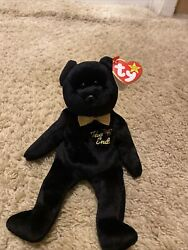Ty Beanie Baby The End Retired With Errors Rare 1999