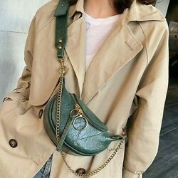 Fashion Synthetic Leather Cross Body Bags For Women Chain Small Shoulder Travel $23.97