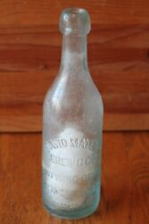 Rare Clam Grew Inside A David Mayer Brewing Co Glass Beer Bottle Blob Top Ny