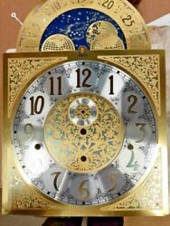 Hermle Grandfather Clock Dial 280 X 280 X 395 For 1171-853,2071-853 Movements